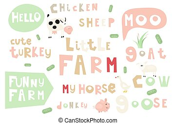 farm words and  phrases