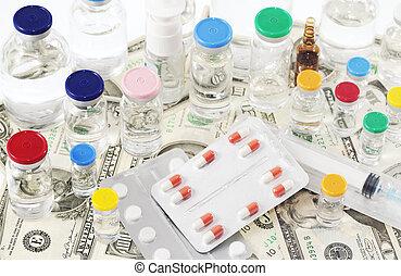 farmacéutico, coste