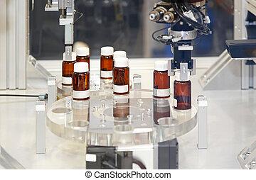 farmacêutico, fabricando