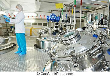 farmaceutische industrie, arbeider