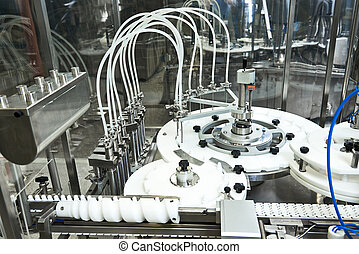 farmaceutisk apparatur, hos, fabrik