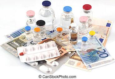 farmaceutisk, bekostningen