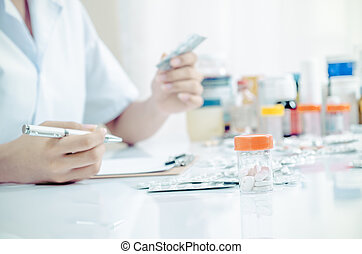 farmaceutisk, butik