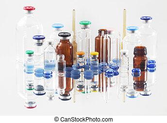 farmaceutisk, vials