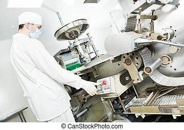 farmaceutiskt verk, arbetare