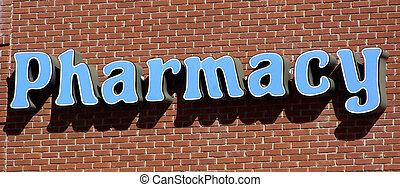 farmacia, señal