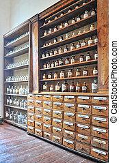 farmacia, viejo