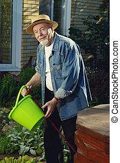farmer senior man