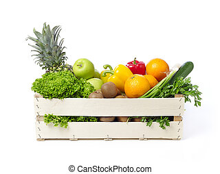 Farmer's fruits and vegetables