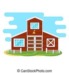 farmers house icon