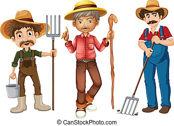 farmers collecting vegetables and eggs eps vectors search clip art rh canstockphoto com farmers clipart images farmers clipart free