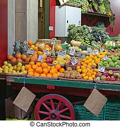 Farmers Market Cart