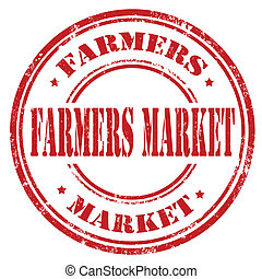 Farmers Market-stamp