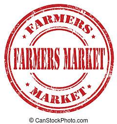 Farmers Market-stamp