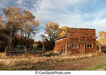 farmház, öreg