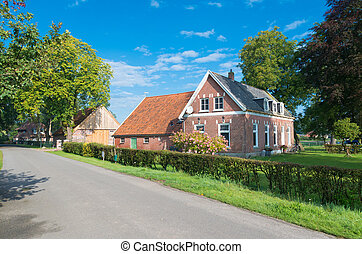 farmház, holland