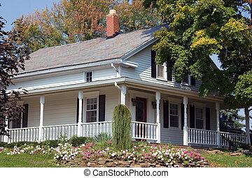 farmhouse, amish, século