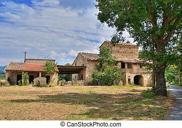 Farmhouse. Assisi. Umbria.