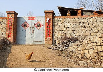 farmhouse door
