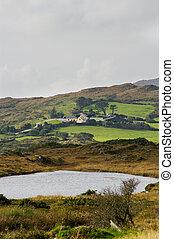 Farmhouse on the Sheeps' Head in Rural Ireland