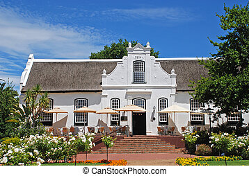 farmhouse(South Africa) - farmhouse in colonial style with...