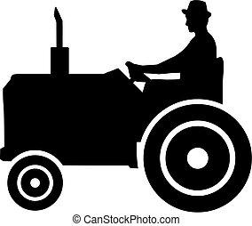 Farming Farmer Tractor