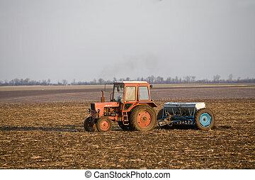 fertilize  ground