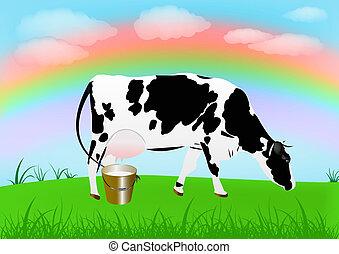 Farming.Breeding dairy Cattle