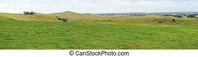 Farmland hills panorama