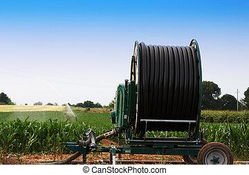 Farmland irrigation