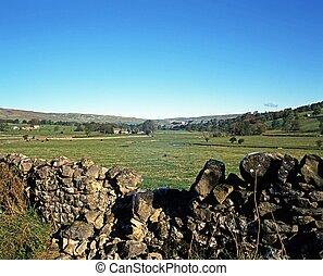 Farmland, Kirkby, Yorkshire Dales.