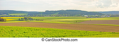 Farmland panorama
