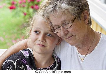 farmor, och, barnbarn
