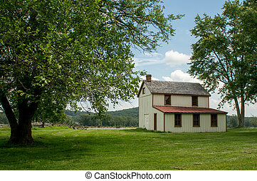 Farmstead in the Countryside - A small farmstead in the...