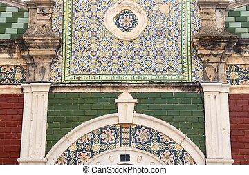 Faro architecture, Portugal - Faro, Portugal - colorful old ...