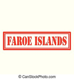 faroe, islands-stamp
