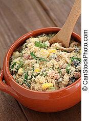 farofa, brazilian food