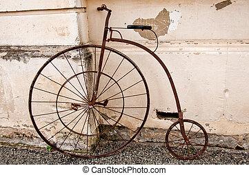 farthing, penny, cykel