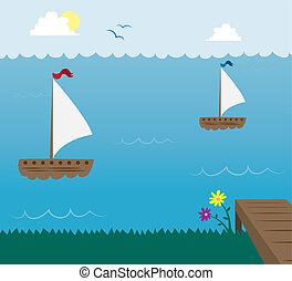 fartyg, segel