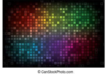 farve, abstrakt, spektrum, baggrund