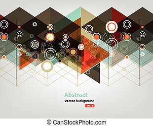 farve, teknologi, netværk, prik