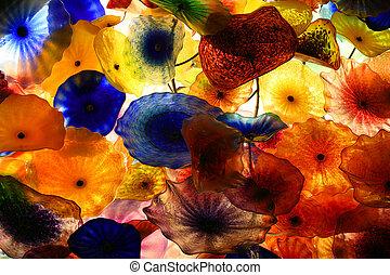 farverig, baggrund