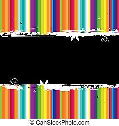 farverig, seamless., tekst, sted, here., baggrund, din