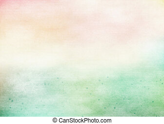 farverig, watercolor., grunge, tekstur, baggrund., blød,...
