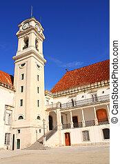 fasade, coimbra, portugal, universidad