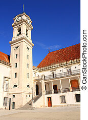 Fasade of Coimbra University, Portugal - Fasade of Coimbra ...