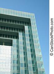 fasade of modern building