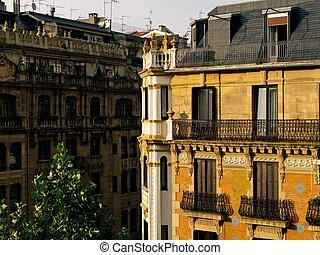 Fascade Of Building in Donostia - San Sebastian