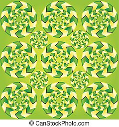 Fascinating optical illusion