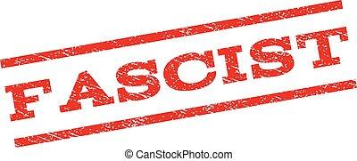 Fascist Watermark Stamp